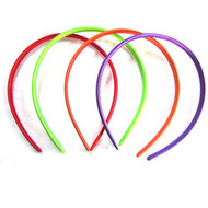 SATIN HEAD BAND 4PCS/CD