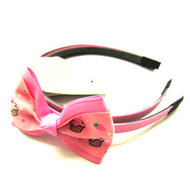BOW HEAD BAND PAIR DZ