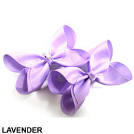 CLIP BOW PAIR DZ LIGHT VIOLET