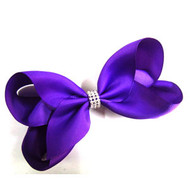 CLIP BOW PURPLE