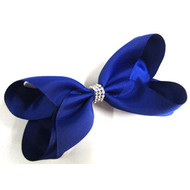 CLIP BOW ROYAL BLUE