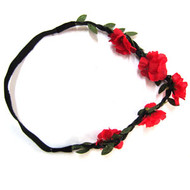 FLOWER ELASTIC HEAD WRAP