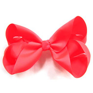 CLIP BOW NEON ORANGE