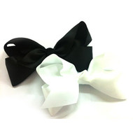 "6.5""  CLIP BOW ASSORTED COLORS 12 PCS/ DZ"