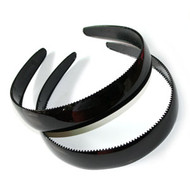 (HBK3552) PLASTIC HEAD BAND 2PCS/CD