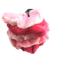 (QSPK2523) VELVET SCRUNCHIE 5PCS/CD