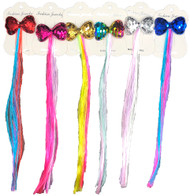 Hair pin with hair extension