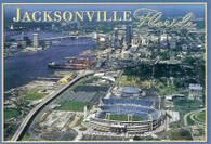 Jacksonville Municipal Stadium, Jacksonville Veterans Memorial Arena and Sam W. Wolfson Baseball Park (2USFL-2448)