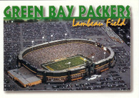 Lambeau Field (GB-1 (white border))