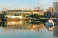 BC Place Stadium (CafePress-Vancouver)