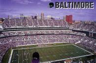 M&T Bank Stadium (B-100 (purple sky))