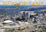 Louisiana Superdome & New Orleans Arena (PC57-NO 2120)