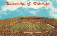 Memorial Stadium (Lincoln) (18019-C variation)
