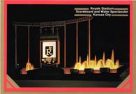 Kauffman Stadium (KC-C153, 661122 gold-foil)