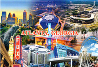 SunTrust Park & Mercedes-Benz Stadium (PC57-ATL 6134)