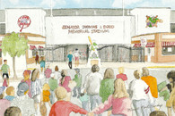 Senator Thomas J. Dodd Memorial Stadium (No# Drawing)