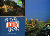 Louisiana Superdome (Super Bowl XXIV Issue 2)