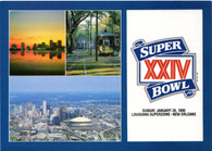 Louisiana Superdome (Super Bowl XXIV Issue 3)