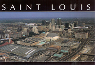 Kiel Center, TWA Dome, & Busch Stadium (STL-374)