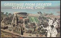 Cleveland Municipal Stadium (P25492)