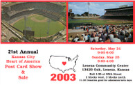 Kansas City Municipal Stadium (2003 Post Card Show)