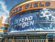 Ford Field (2015 Detroit Postcard Co)