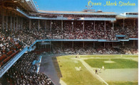 Connie Mack Stadium (PHI-105, C6918 (yellow title))