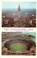 Cleveland Municipal Stadium (K-32, 5C-K1205 (border, World Port))