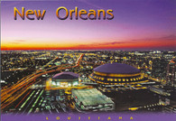 Louisiana Superdome & New Orleans Arena (PC57-NO2121)