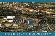 Boise State University Bronco Stadium & Taco Bell Arena (MWP-IB15 blue border)