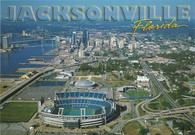 Jacksonville Municipal Stadium, Jacksonville Veterans Memorial Arena and Sam W. Wolfson Baseball Park (PC57-JKV 1505)