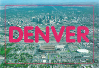 Mile High Stadium & McNichols Sports Arena (D-137 pink title)