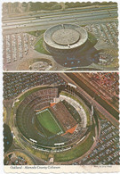Oakland-Alameda County Coliseum & Oakland Coliseum Arena (38925-C deckle)