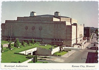 Municipal Auditorium (Kansas City) (KC-C150, 651226 deckle)