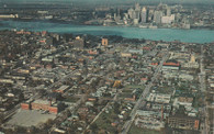 Tiger Stadium (Detroit) & Windsor Arena (P53297)