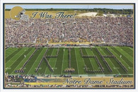 Notre Dame Stadium (6x9 I Was There)