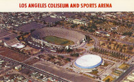Los Angeles Memorial Coliseum & Los Angeles Memorial Sports Arena (P33680 white)