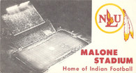 Malone Stadium (No# NLU Dept. of Athletics)