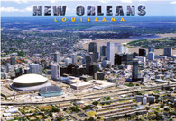 Louisiana Superdome & New Orleans Arena (PC57-NO2120)