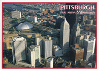 Pittsburgh Civic Arena (C80R. (red))