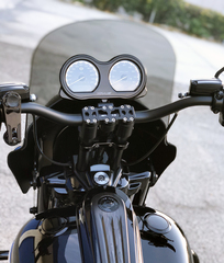 Road King with Road Glide Gauges