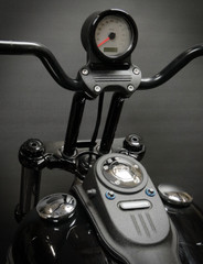 2006-2011 Dyna FXDB Speedo Relocation Harness (Single Gauge)