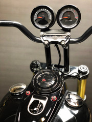 2012-2017 Dyna FLD, FXDF, & FXDC Speedo Relocation Harness (Dual Gauge)