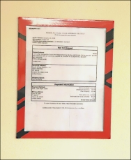 Color Brights Custom Magnetic Document Frames