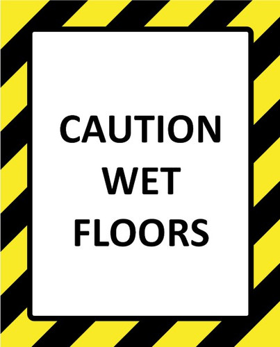 Cautionary - Safety Document Magnetic Sign Holders, simply add your signage.