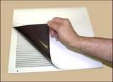 Black or White Magnetic Wall Vent Cover
