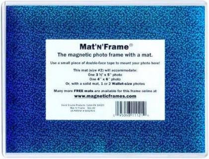 Mat'N'Frame size #2 - Magnetic Pocket frame