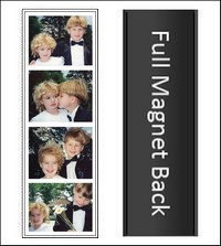 3.5x5 OR 4x6 Qty Discount Sets Magically Magnetic Black or White Photo Frames