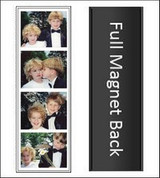 Photo Booth Magnets  200 Vinyl Magnetic Photo Booth Frames
