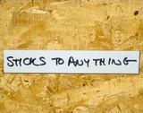 Write on Wipe off Dry Erase Self Adhesive shelf labels